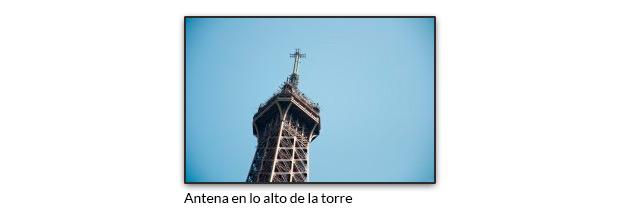 Antena Torre Eiffel