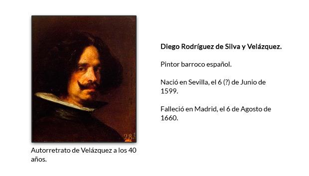 Autorretrato de Velázquez a los 40 años