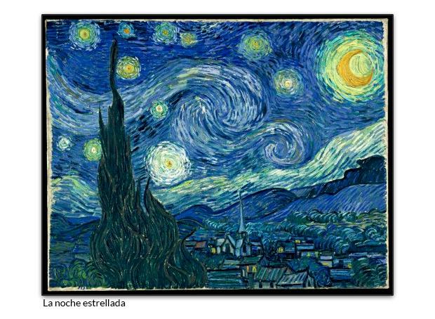 Dónde pintó Van Gogh su gran obra La noche estrellada?