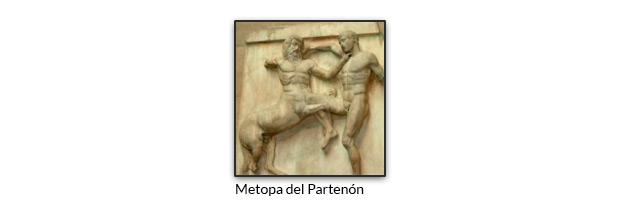Metopa del Partenón