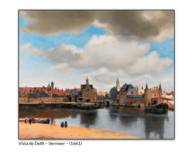 Vista de Delft – Vermeer