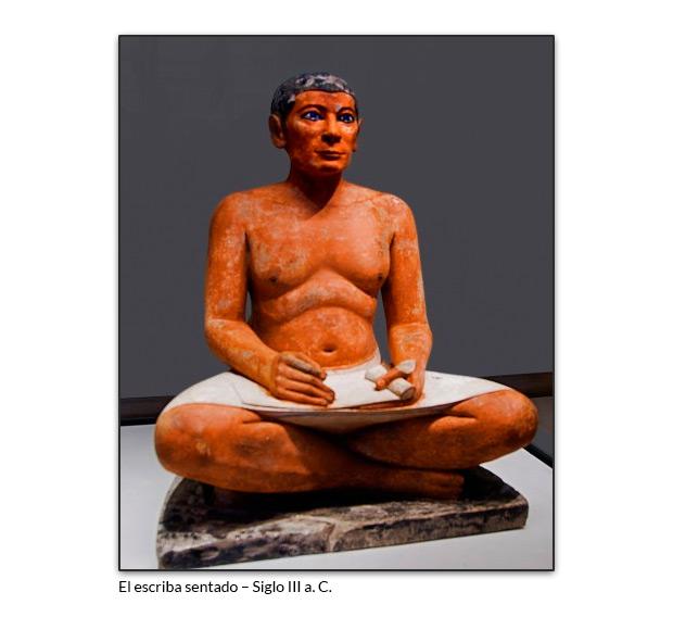 El escriba sentado – Siglo III a. C