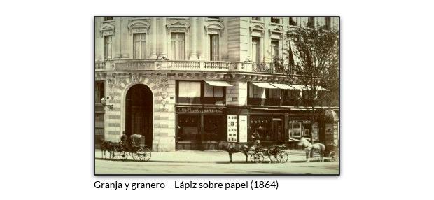 Galería Goupil en París, donde Van Gogh trabajó durante un tiempo