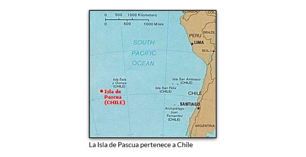 La Isla de Pascua pertenece a Chile