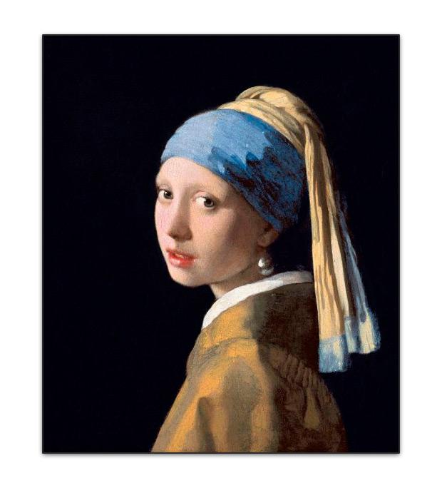 Resultado de imagen de chica con pendiente de perla