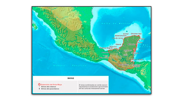 Mapa ampliado