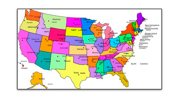 Mapa guerra de independencia