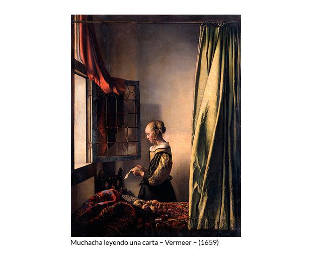 Muchacha leyendo una carta – Vermeer