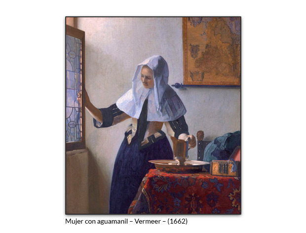 Mujer con aguamanil – Vermeer
