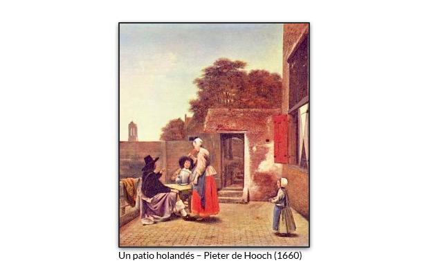 Un patio holandés – Pieter de Hooch