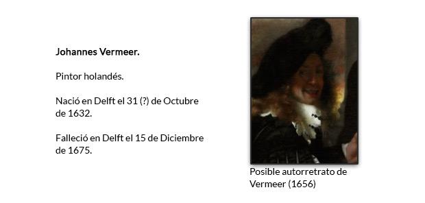 Autorretrato vermeer 2