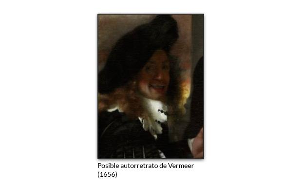 Posible autorretrato de Vermeer
