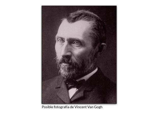 Posible fotografía de Vincent Van Gogh
