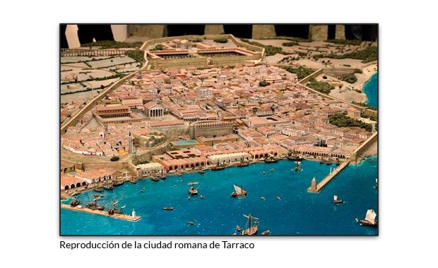 Reproducción de la ciudad romana de Tarraco