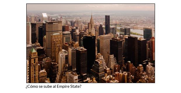 Cómo se sube al Empire State