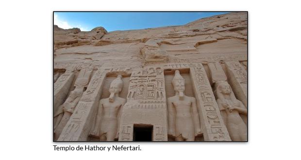 Templo de Hathor y Nefertari