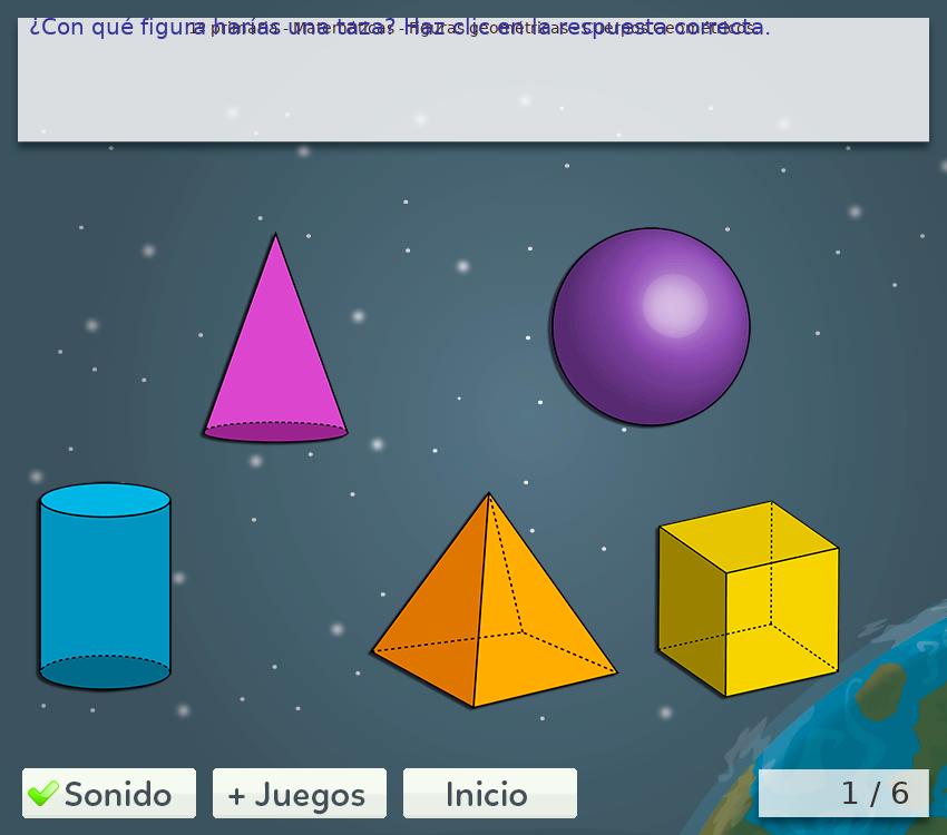 Juegos de geometría de 1º de primaria