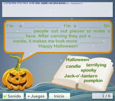 Halloween para niños de primaria