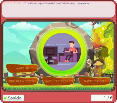 """Juegos de inglés - """"Vocabulary"""" para tercero y cuarto de primaria"""