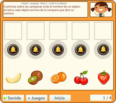"""Juegos de Vocabulario - """"El dibujo verdadero"""""""