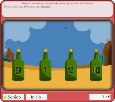 Juegos de números y operaciones 1º primaria
