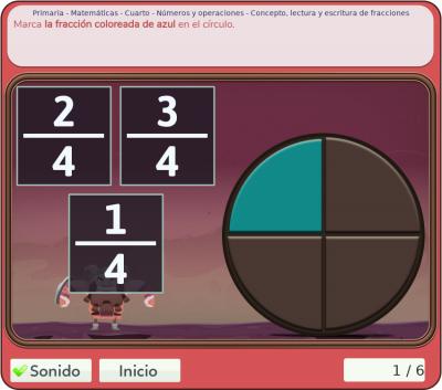 Juegos de números y operaciones 4º primaria