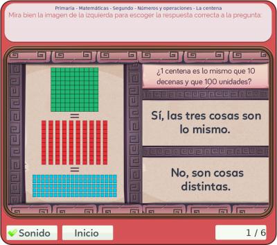 Juegos de números y operaciones 2º primaria