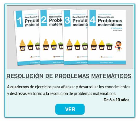 Resolucion de problemas matemáticos