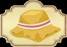 Los seis Jizos y sus sombreros de paja
