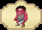 Cuento popular el ogro rojo