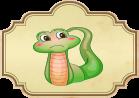Cuento popular La serpiente cuadrada