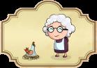 Cuento popular La vieja y la gallina