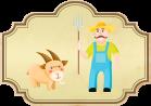 Fábula Las cabras y el cabrero