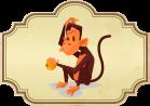 El mono y la naranja