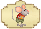 Fábula infantil el ratón de campo y el ratón de ciudad
