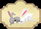 Fábula de Los dos conejos