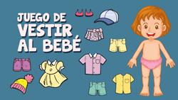 Juegos de vestir bebes