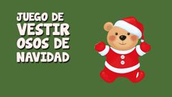 Ir al juego de vestir osos amorosos de Navidad
