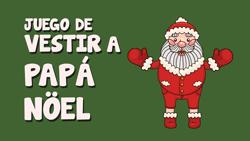 Juego de vestir a Papá Noël