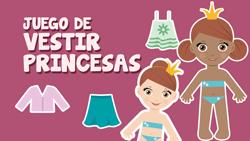 Ir a juego de vestir princesas
