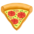 Lectura corta para niños sobre la primera pizza