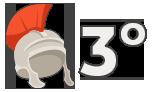Juego de números romanos de 3º – Juego 19