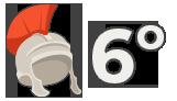 Números romanos 6º – Juego 06
