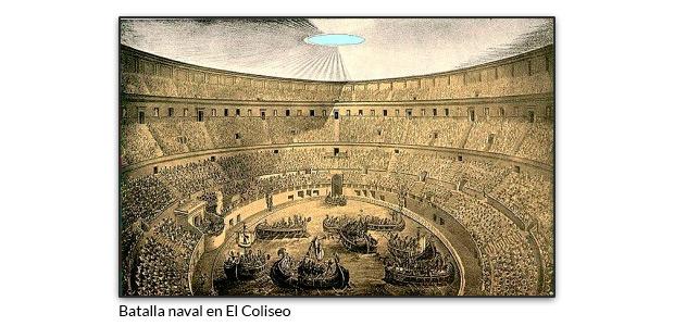 Batalla naval en el Coliseo