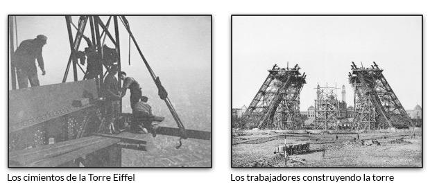 Construyendo la Torre Eiffel
