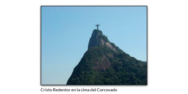 Cristo Redentor en la cima del Corcovado