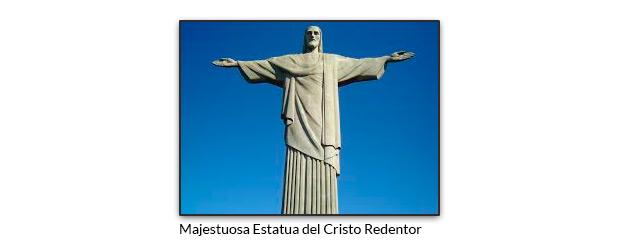 Majestuosa Estatua del Cristo Redentor