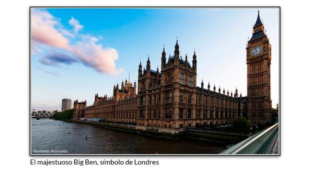 El Big Ben y el Palacio de Westminster