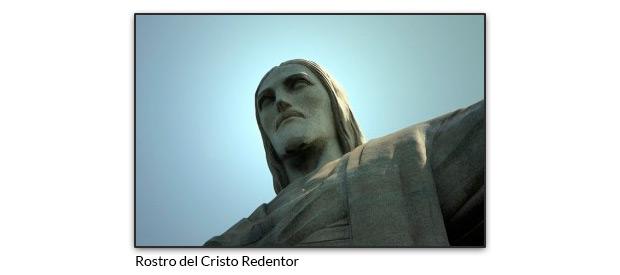 Rostro del Cristo Redentor