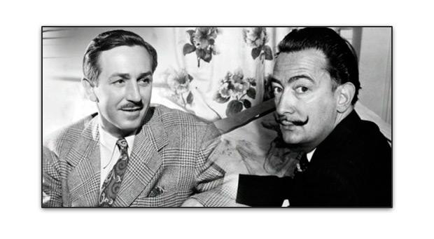 Walt Disney y Dalí